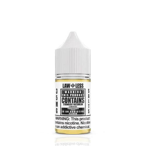 Warning Salts Strawberry Watermelon Lemonade 30ml Nic Salt Vape Juice