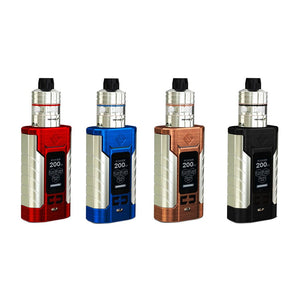 Wismec Sinuous FJ200 TC Starter Kit with Divider SubOhm Atomizer