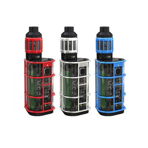 Wismec Exo Skeleton Full Kit - ES300 Mod with KAGE Atomizer (2.8mL Version)