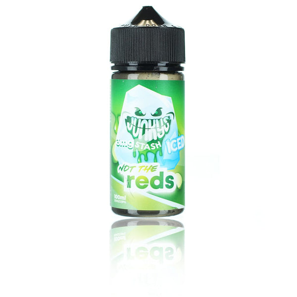Junky's Stash Not the Reds ICED 100ml Vape Juice