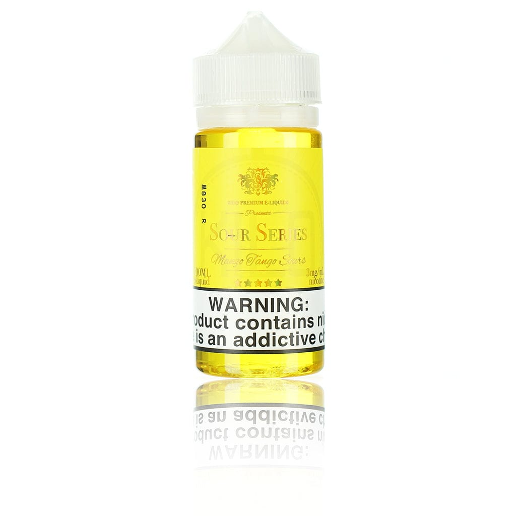 Kilo Sour Series (Bazooka Sour Straws) Mango Tango Sours 100ml Vape Juice