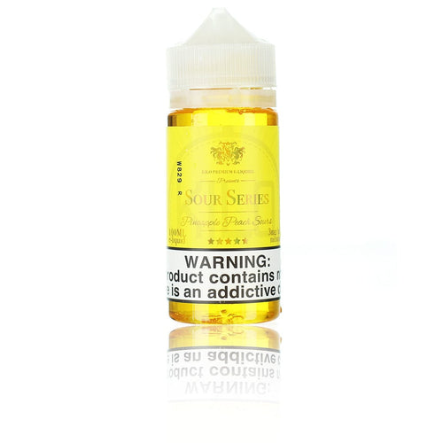 Kilo Sour Series (Bazooka Sour Straws) Pineapple Peach Sours 100ml Vape Juice