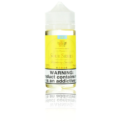 Kilo Sour Series (Bazooka Sour Straws) Strawberry Sours ICE 100ml Vape Juice