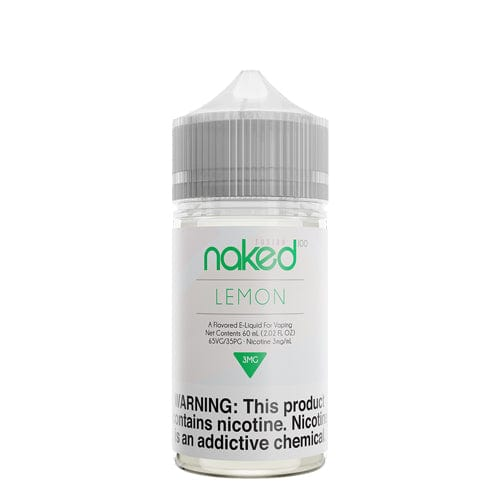 Naked 100 Fusion Lemon 60ml Vape Juice (Previously Green Lemon)
