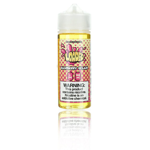 Ruthless Loaded Raspberry Eclair 120ml Vape Juice