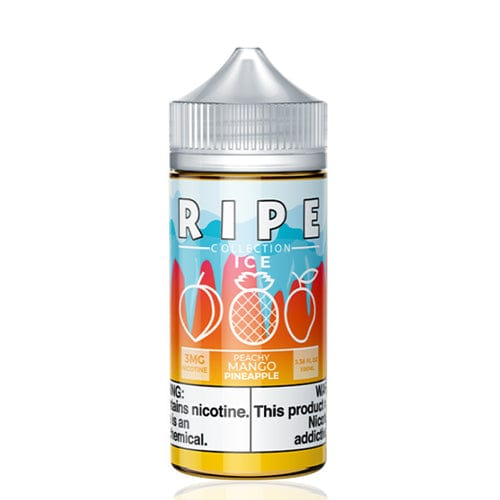 Ripe Collection Peachy Mango Pineapple ICE 100ml Vape Juice