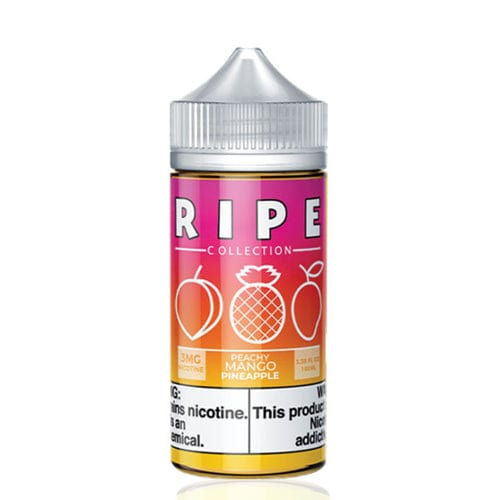 Ripe Collection Peachy Mango Pineapple 100ml Vape Juice