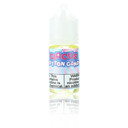 Puff Labs Salts Circus Cotton Candy 30ml Nic Salt Vape Juice