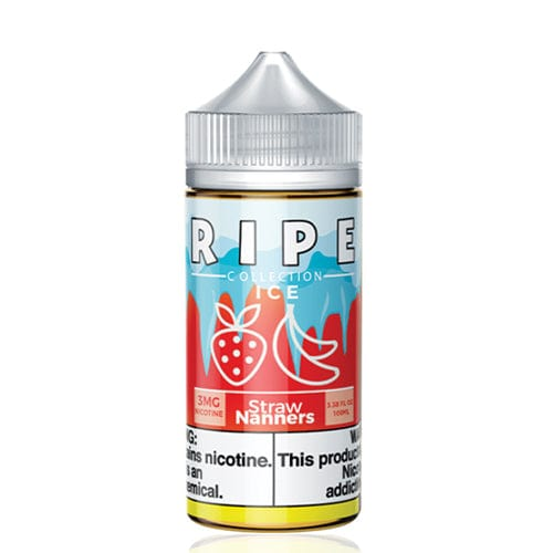 Ripe Collection Straw Nanners ICE 100ml Vape Juice