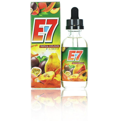 E7 Liquids Tropical Explosion 60ml Vape Juice