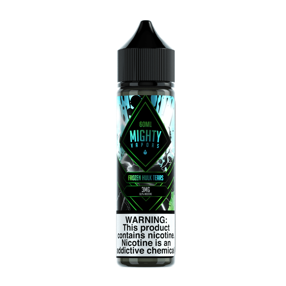 Mighty Vapors Frozen Hulk Tears 60ml Vape Juice