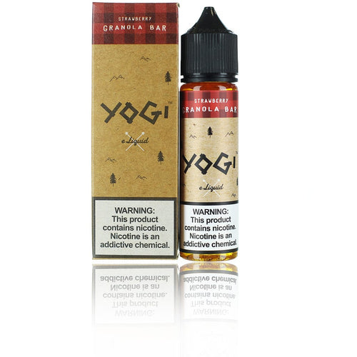 Yogi Strawberry Granola Bar 60ml Vape Juice