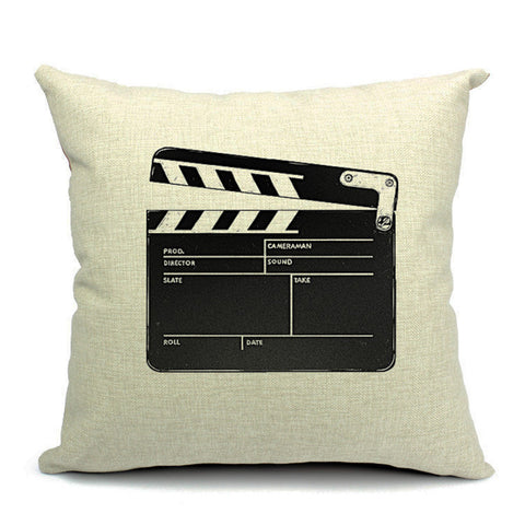 Action! Throw Pillow (inserts included)