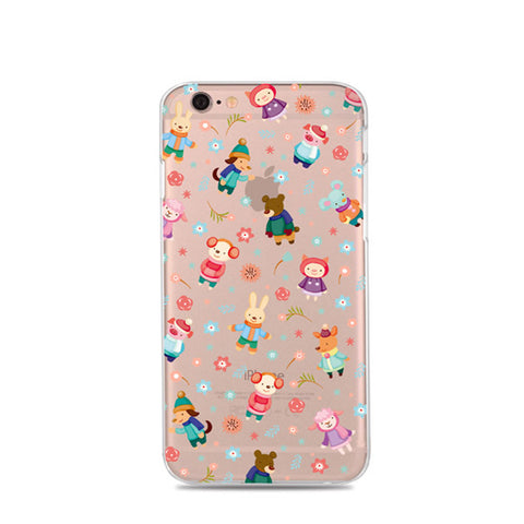 """Animal Friends"" iPhone Case"