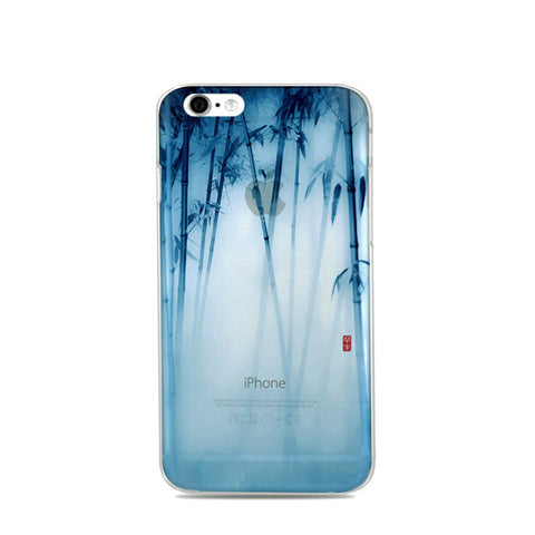 """Bamboo Mist"" iPhone Case"