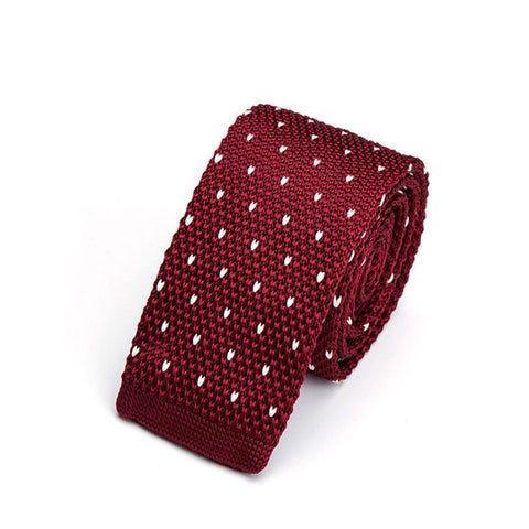 """Carson"" Knitted Tie"