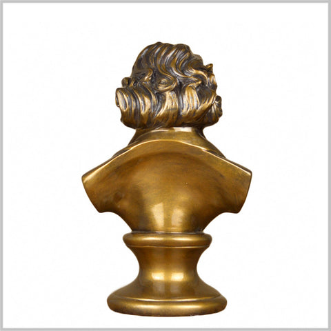 Classical Composer Ludwig Van Beethoven Bust Statue