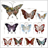 Bohemian Motif Butterfly Wall Decor (+ More Options)