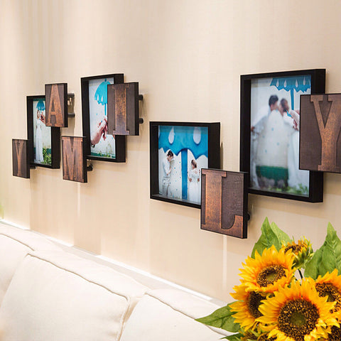 """Family"" Picture Frames (+ More Colors Available)"