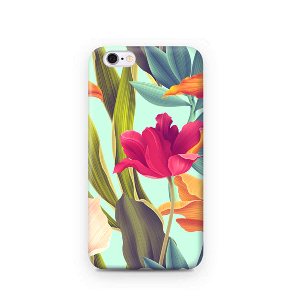"""Floral Wonderland"" iPhone Case"