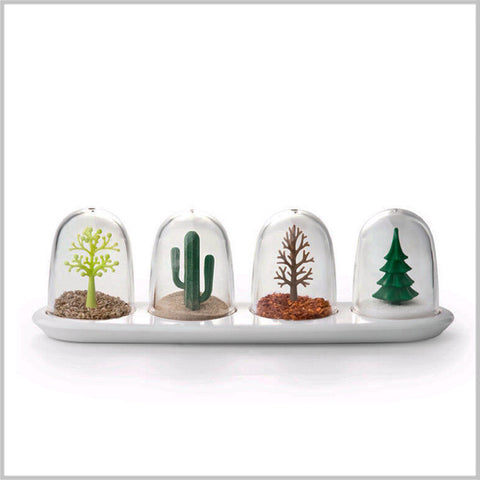 """Four Seasons"" Spice Shaker - Set of Four"
