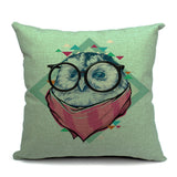Harry the Owl Throw Pillow (inserts included)