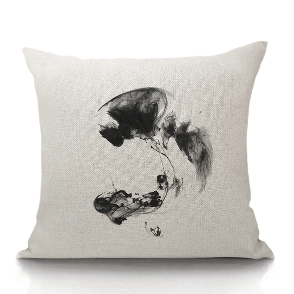 In Evanesce Throw Pillow (inserts included)