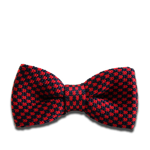 """Jackson"" Pre-Tied Knitted Bow Tie"