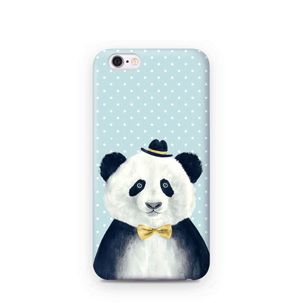 """Kevin the Panda"" iPhone Case"