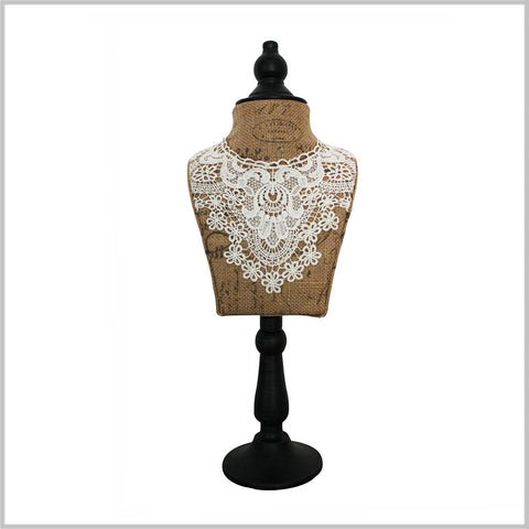 "19"" Lace & Sass Jewelry Mannequin"