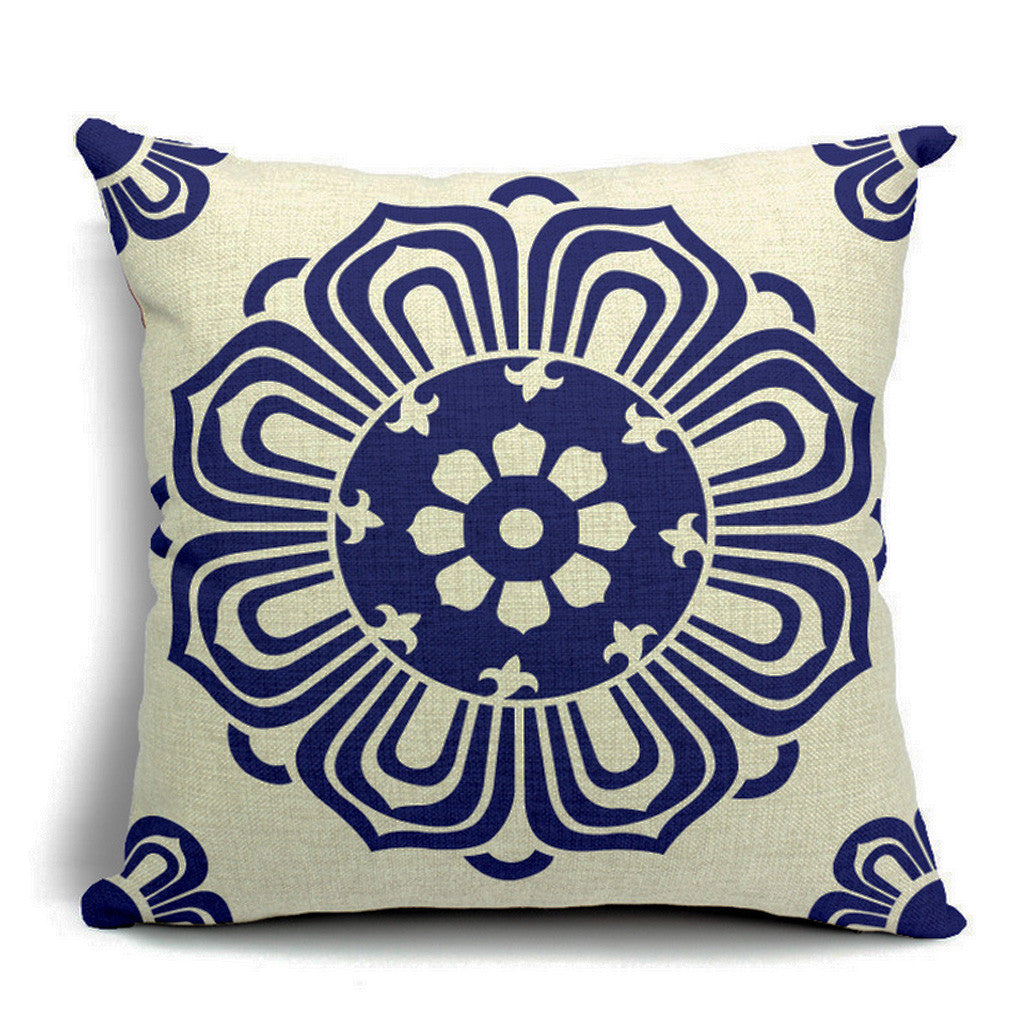 Lotus Throw Pillow (inserts included)