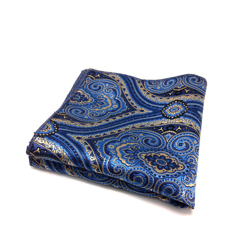 """Offbeat Aristocratic"" Pocket Square"