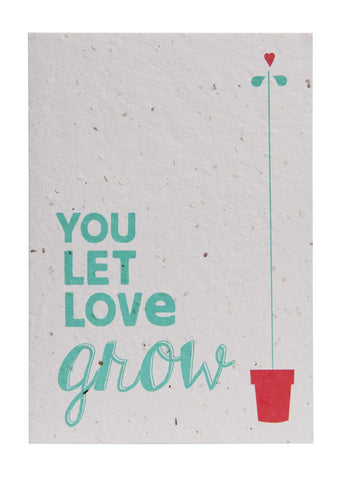 Send & Grow card - A4