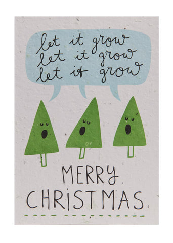 Send & Grow Xmas card - X1