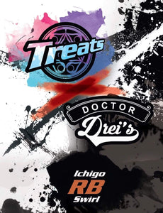 Ichigo RB Swirl by Dr. Drei's and Treats - Mistwood Vape Café