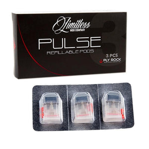 Limitless Pulse Replacement Pods - Mistwood Vape Café