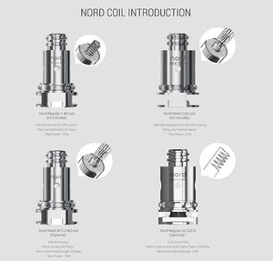 Smok Replacement Coil - 1.4ohm Ceramic (Authentic; compatible with Nord and Trinity Alpha) - Mistwood Vape Café