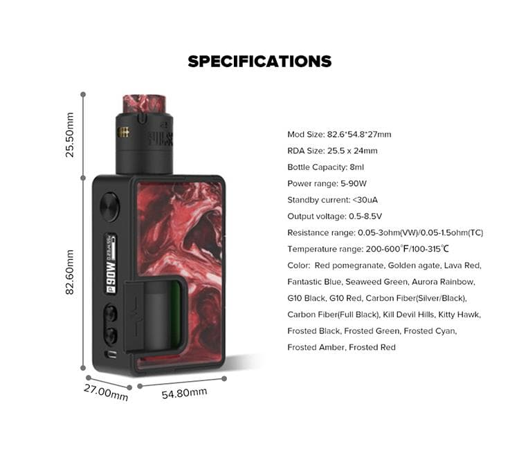 Vandy Vape Pulse X BF Squonk Kit - Special Edition with Pulse V2 Atomizer