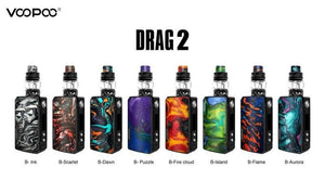 Drag 2 Kit (with Uforce T2 Sub-Ohm Tank) - Mistwood Vape Café