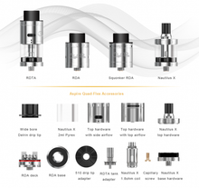 Quad-Flex Power Pack Atomizer - Mistwood Vape Café