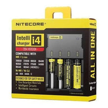 Nitecore New i4 Intellicharger - Mistwood Vape Café
