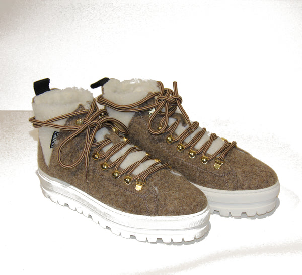 SNEAKERS WOOL  BEIGE