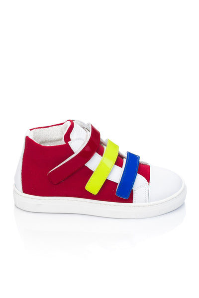 DREAM JUNIOR UNISEX ROSSO VELCRO