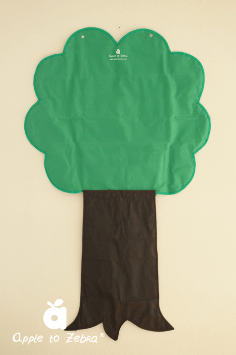 Tree Pocket Chart 5