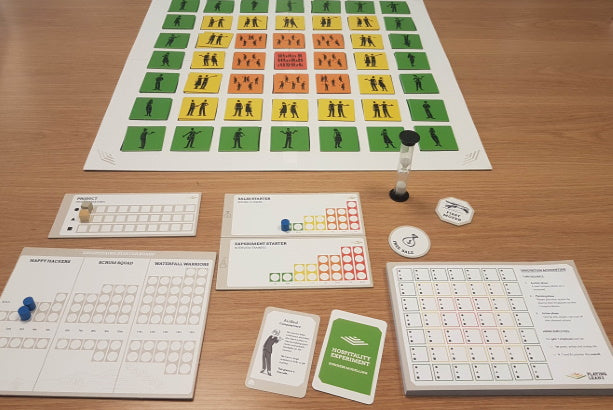 Serious games for teaching innovation