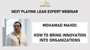 Playing Lean Expert Webinar with Mohamad Mahdi
