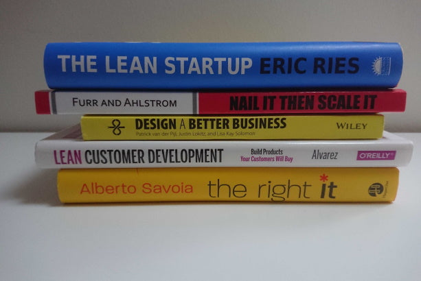 Best books to master the Lean Startup