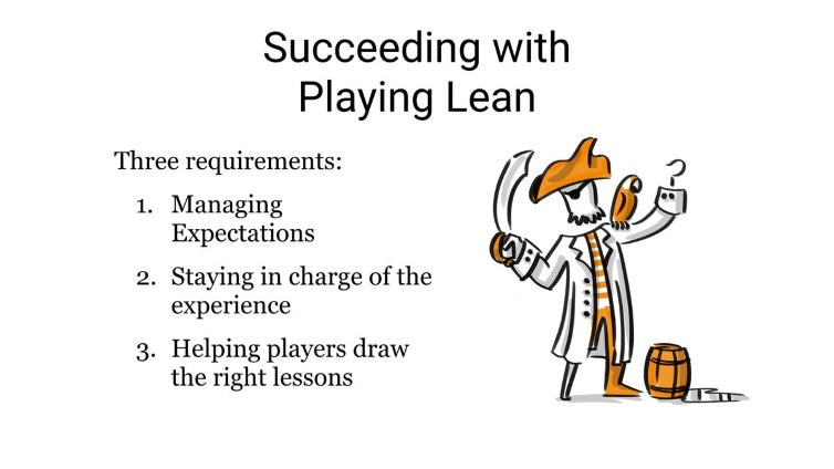 Playing Lean Facilitator Training