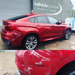 Insurance claim bodywork repair estimate