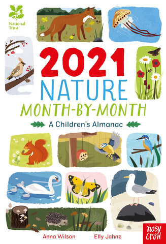 Image of book titled 2021 Nature Month by Month.